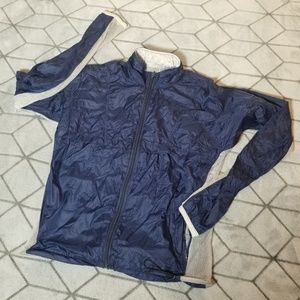 B30 Nike Windbreaker Blue SAMPLE Jacket Sz Medium